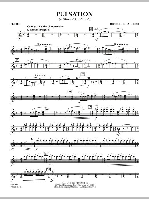 Pulsation - Flute (Concert Band)