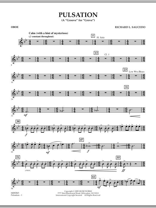 Pulsation - Oboe (Concert Band)