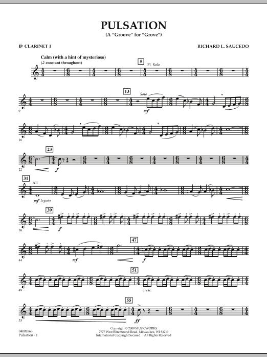 Pulsation - Bb Clarinet 1 (Concert Band)
