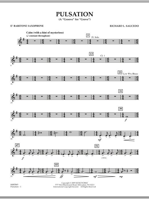 Pulsation - Eb Baritone Saxophone (Concert Band)