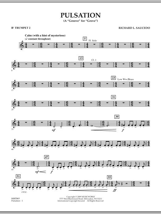 Pulsation - Bb Trumpet 2 (Concert Band)