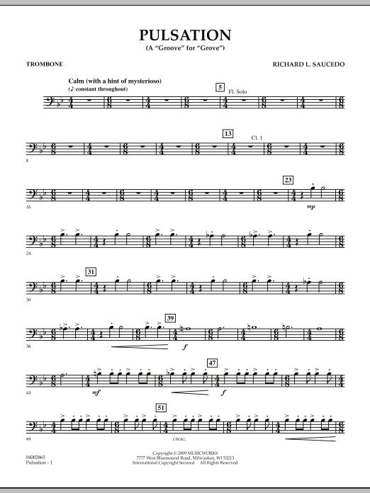 Pulsation - Trombone (Concert Band)