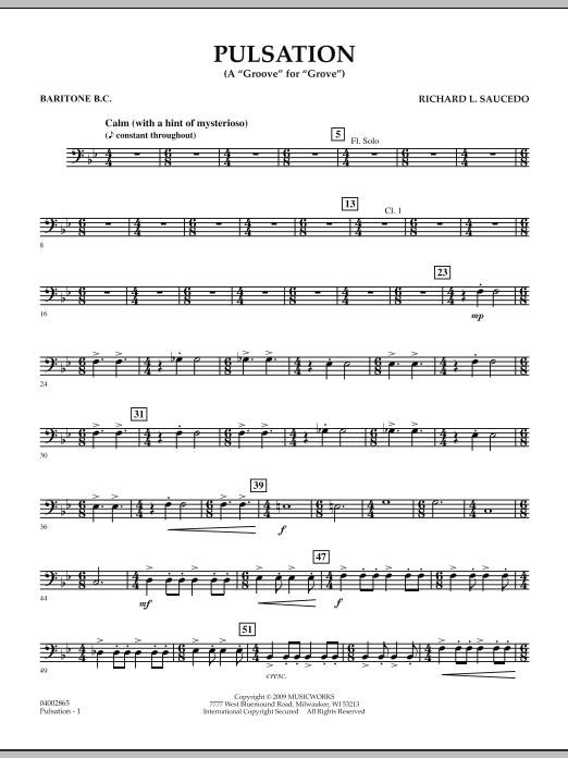 Pulsation - Baritone B.C. (Concert Band)