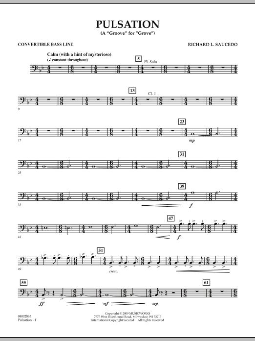 Pulsation - Convertible Bass Line (Concert Band)