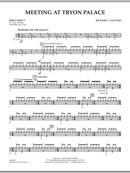 Meeting at Tryon Palace - Percussion 2 (Concert Band)
