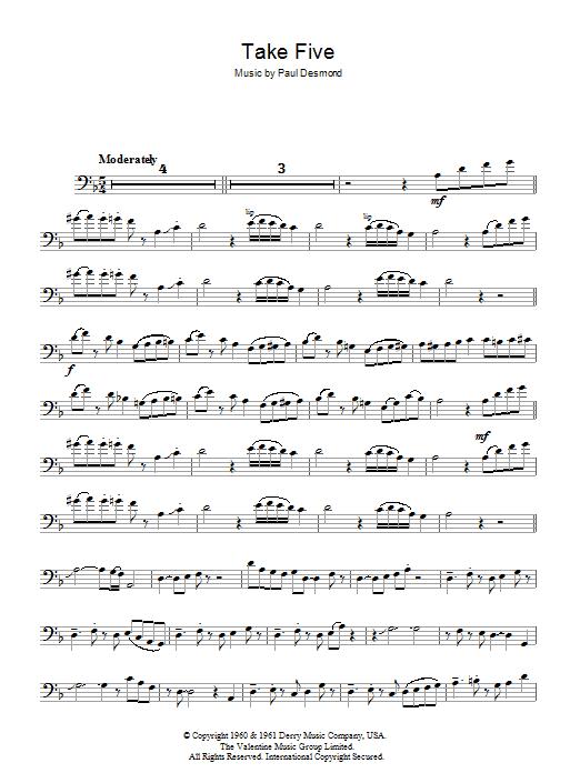 Take Five (Trombone Solo)