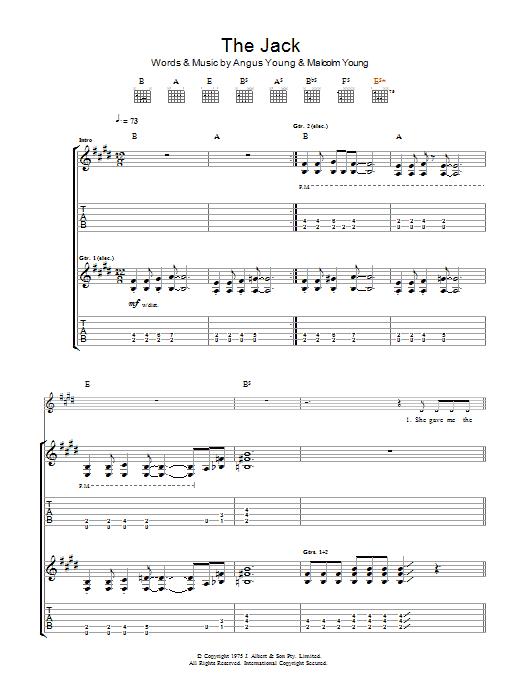 The Jack Sheet Music