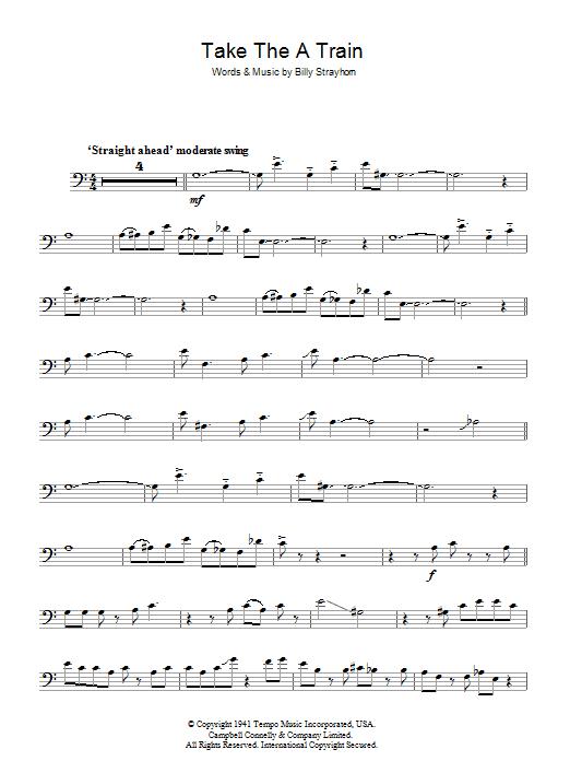 Take The 'A' Train (Trombone Solo)