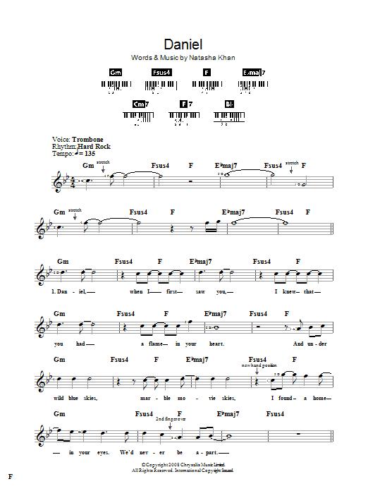 Daniel Sheet Music
