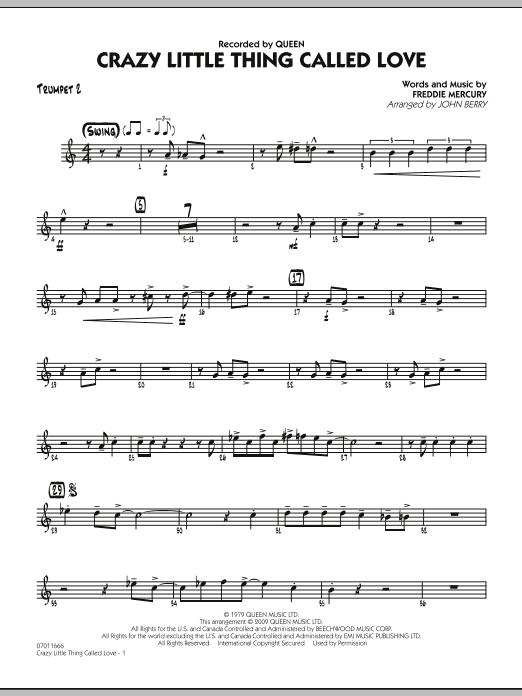 Crazy Little Thing Called Love - Trumpet 2 (Jazz Ensemble)
