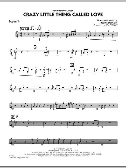 Crazy Little Thing Called Love - Trumpet 3 (Jazz Ensemble)
