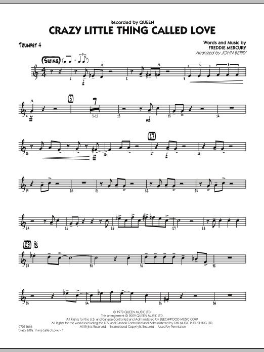 Crazy Little Thing Called Love - Trumpet 4 (Jazz Ensemble)