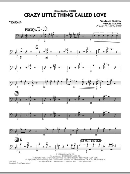 Crazy Little Thing Called Love - Trombone 3 (Jazz Ensemble)