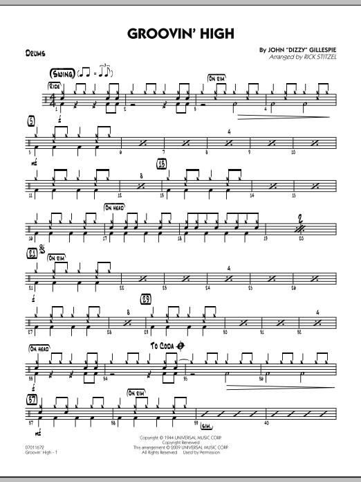 Groovin' High - Drums (Jazz Ensemble)