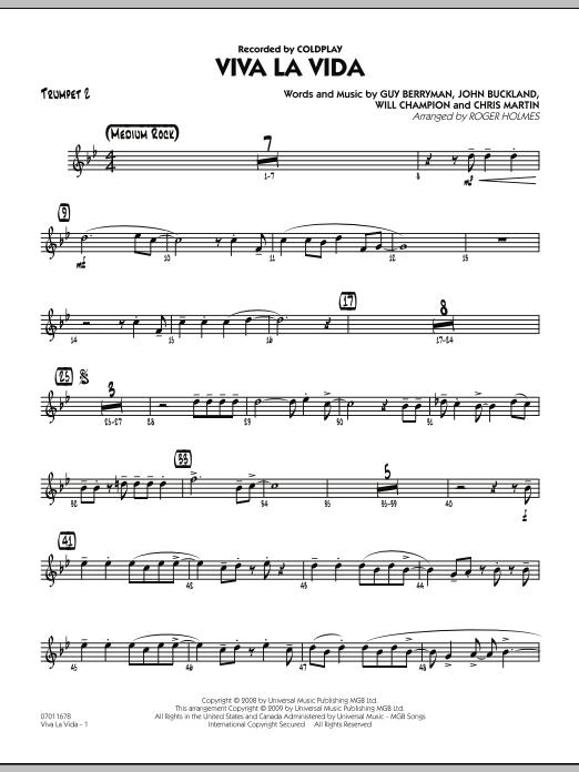 Viva La Vida - Trumpet 2 (Jazz Ensemble)