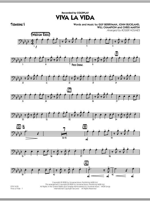 Viva La Vida - Trombone 3 (Jazz Ensemble)