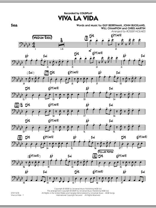 Viva La Vida - Bass (Jazz Ensemble)