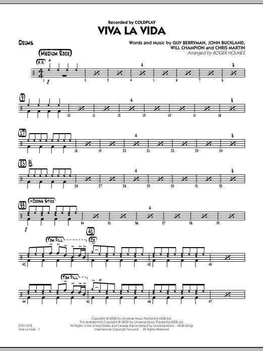 Viva La Vida - Drums (Jazz Ensemble)