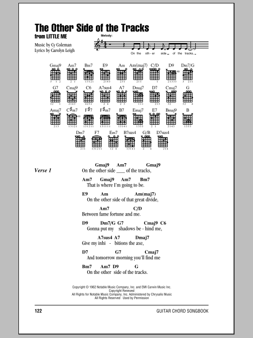The Other Side Of The Tracks Sheet Music