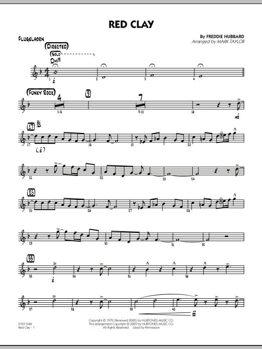 Red Clay - Flugelhorn (Jazz Ensemble)