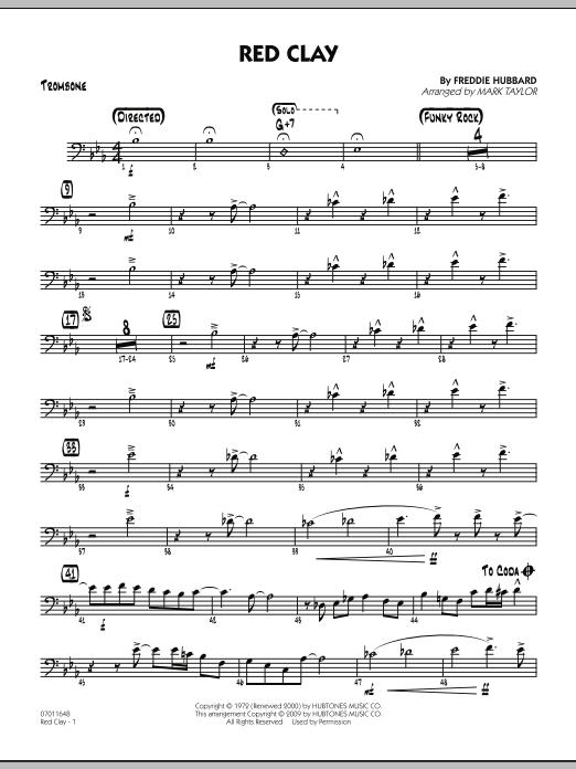 Red Clay - Trombone (Jazz Ensemble)