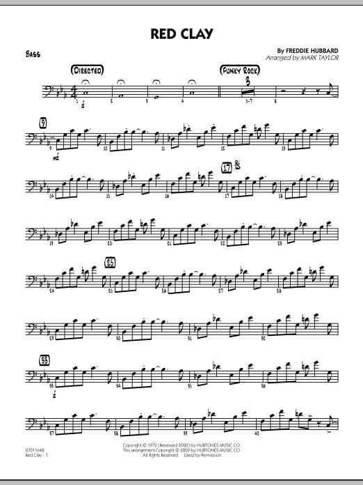 Red Clay - Bass (Jazz Ensemble)