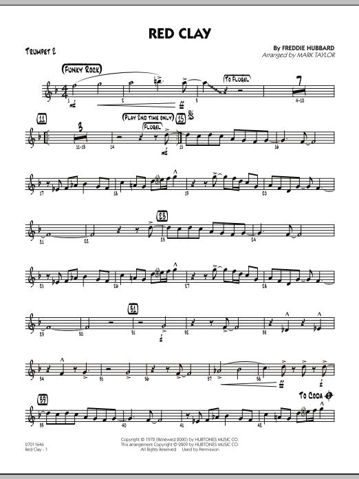 Red Clay - Trumpet 2 (Jazz Ensemble)