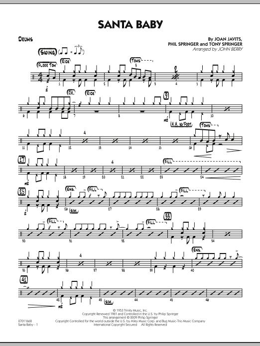 Santa Baby - Drums (Jazz Ensemble)