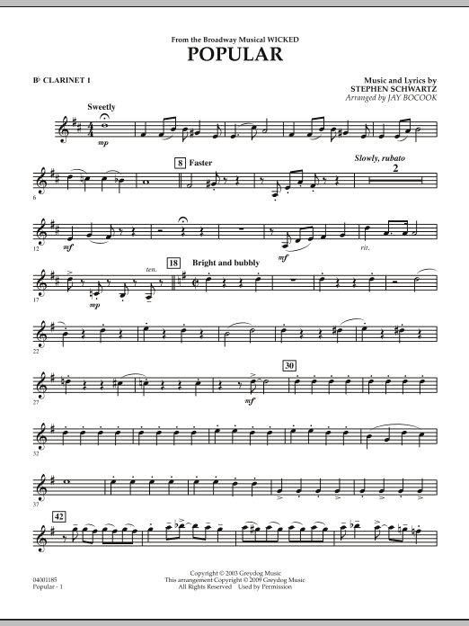 2019 Fashion Stephen Schwartz Choral Songs From Wicked Satb Vocals Sheet Music Book Musical Instruments & Gear