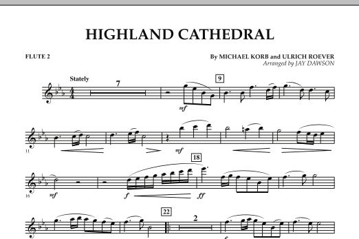 Highland Cathedral - Flute 2 (Concert Band)