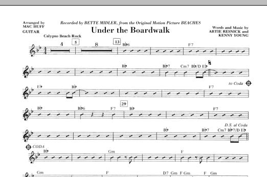 Under The Boardwalk - Guitar (Choir Instrumental Pak)