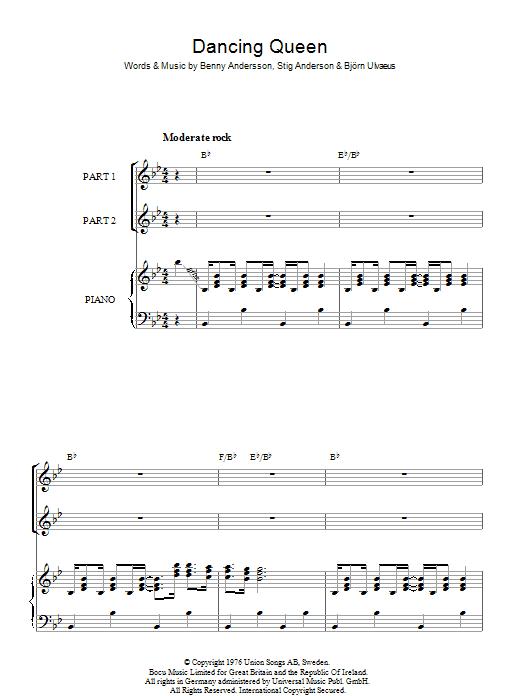 Dancing Queen (arr. Rick Hein) (Choir)
