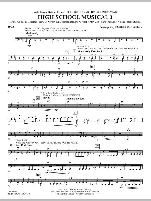High School Musical 3 - Bass (Orchestra)