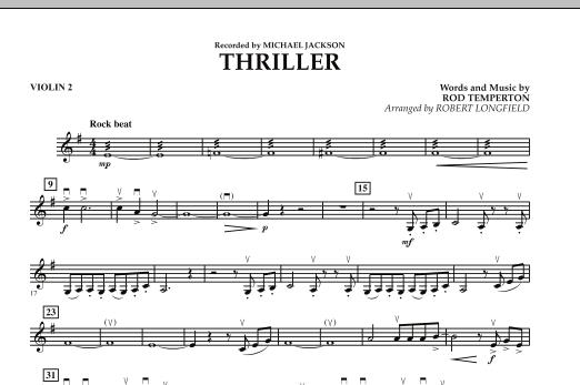 Thriller - Violin 2 (Orchestra)