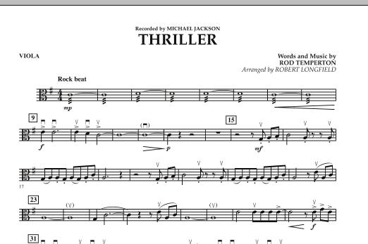 Thriller - Viola (Orchestra)