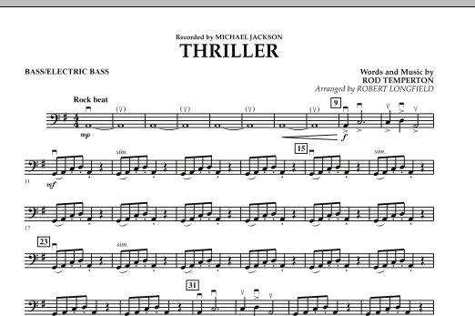 Thriller - String Bass/Electric Bass (Orchestra)