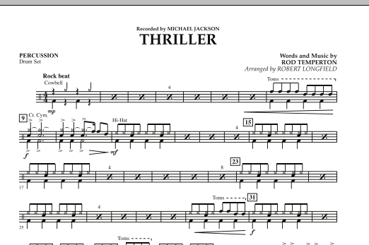Thriller - Percussion (Orchestra)