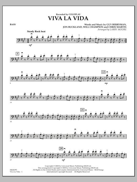 Viva La Vida - Bass (Orchestra)