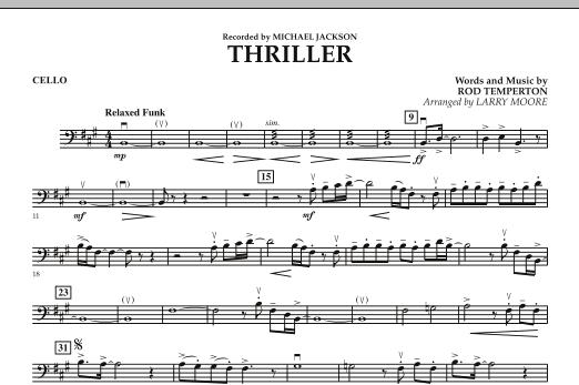 Thriller - Cello (Orchestra)
