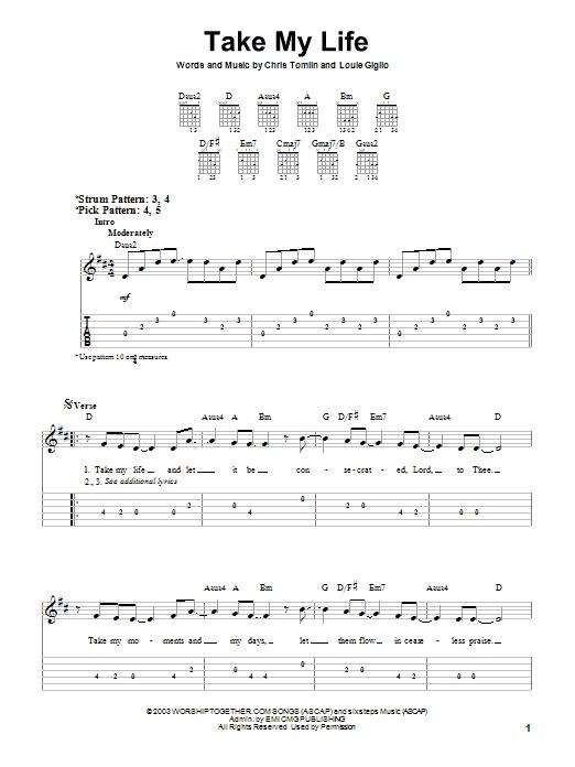 Sheet Music Digital Files To Print - Licensed Chris Tomlin
