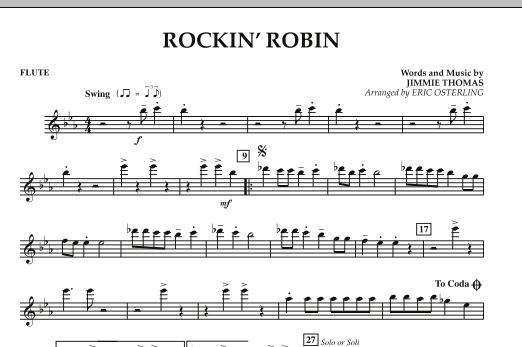 Rockin' Robin - Flute (Concert Band)