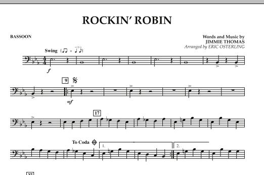Rockin' Robin - Bassoon (Concert Band)