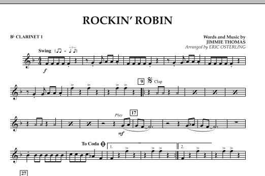 Rockin' Robin - Bb Clarinet 1 (Concert Band)