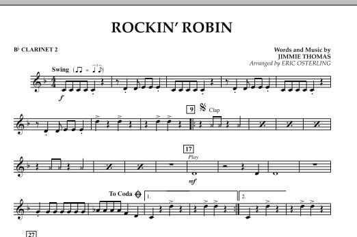 Rockin' Robin - Bb Clarinet 2 (Concert Band)