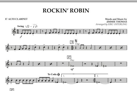 Rockin' Robin - Eb Alto Clarinet (Concert Band)