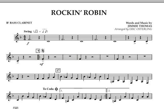 Rockin' Robin - Bb Bass Clarinet (Concert Band)