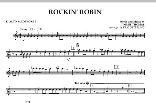 Rockin' Robin - Eb Alto Saxophone 2 (Concert Band)