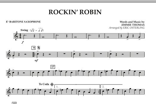 Rockin' Robin - Eb Baritone Saxophone (Concert Band)