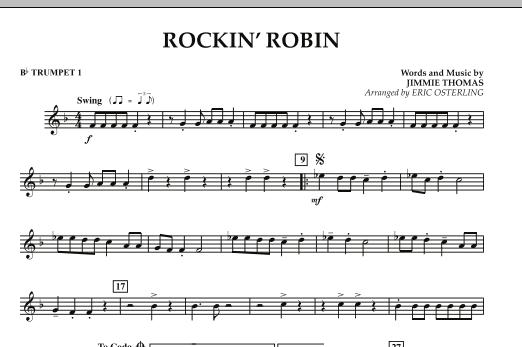 Rockin' Robin - Bb Trumpet 1 (Concert Band)
