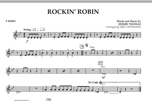 Rockin' Robin - F Horn (Concert Band)